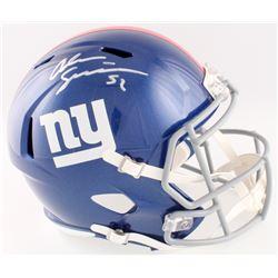 Alec Ogletree Signed Giants Full-Size Speed Helmet (JSA COA)