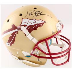 Deion Sanders Signed Florida State Seminoles Full-Size Helmet (Radtke COA)