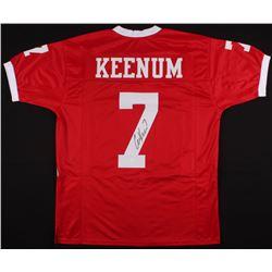 Case Keenum Signed Jersey (JSA COA)