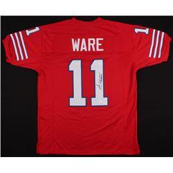 Andre Ware Signed Jersey (JSA COA)