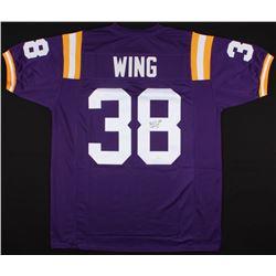 Brad Wing Signed Jersey (JSA COA)