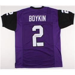 Trevone Boykin Signed Jersey (JSA COA)