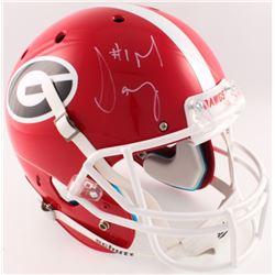 Sony Michel Signed Georgia Bulldogs Full-Size Helmet (Radtke COA)