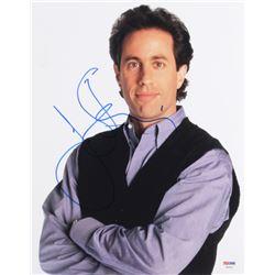 Jerry Seinfeld Signed 11x14 Photo (PSA COA)