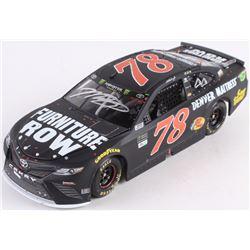 Martin Truex Jr. Signed NASCAR #78 Furniture Row - Kentucky Race Win - 2017 1:24 LE Premium Action D