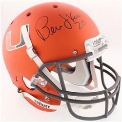 Bernie Kosar Signed Miami Hurricanes Full-Size Helmet (Radtke COA)