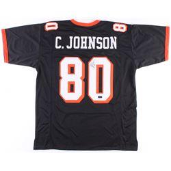 Chad Johnson Signed Jersey (Radtke COA)