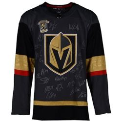 Golden Knights LE Adidas Jersey Team-Signed By (21) With Marc-Andre Fleury, William Karlsson, Jonath
