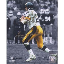 Terry Bradshaw Signed Steelers 8x10 Photo (Radtke COA)