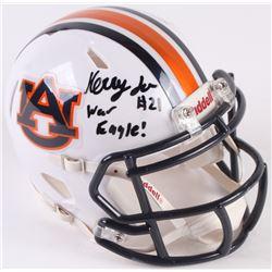 "Kerryon Johnson Signed Auburn Tigers Speed Mini-Helmet Inscribed ""War Eagle!"" (Radtke COA)"