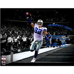 "Jason Witten Signed Cowboys 11x14 Photo Inscribed ""America's Team"" (Fanatics Hologram)"