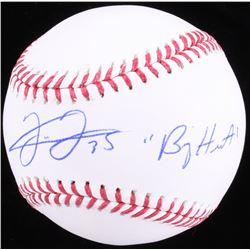 "Frank Thomas Signed OML Baseball Inscribed ""Big Hurt"" (JSA COA)"