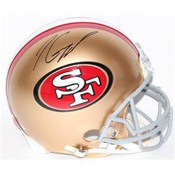 Jimmy Garoppolo Signed 49ers Full Size Helmet (TriStar Hologram)