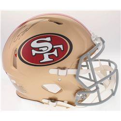 Jimmy Garoppolo Signed 49ers Full-Size On-Field Speed Helmet (Radtke COA)