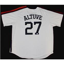Jose Altuve Signed Astros Jersey (JSA COA)