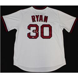 Nolan Ryan Signed Angels Jersey (Beckett COA  Ryan Hologram)