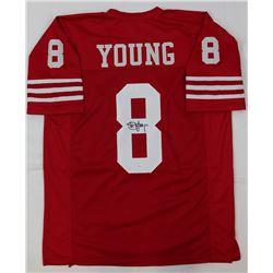 Steve Young Signed Jersey (JSA COA)