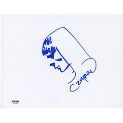 """Cary Nord Signed 8.5x11 Cut with Original """"Conan the Barbarian"""" Sketch (PSA COA)"""