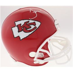 Tyreek Hill Signed Chiefs Full-Size Helmet (JSA COA)