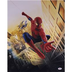 "Stan Lee Signed ""Spider-Man"" 16x20 Photo (PSA COA)"