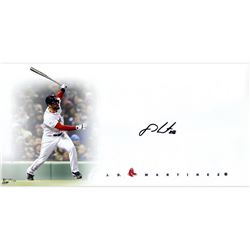 """J. D. Martinez Signed Red Sox """"Big Sig"""" 16x20 Limited Edition Photo (Steiner COA)"""