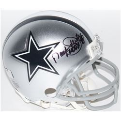 "Daryl Johnston Signed Cowboys Mini Helmet Inscribed ""Moose"" (Radtke COA)"