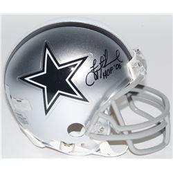 "Troy Aikman Signed Cowboys Mini-Helmet Inscribed ""HOF '06"" (Radtke COA  Aikman Hologram)"