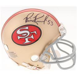 Bill Romanowski Signed 49ers Mini-Helmet (Radtke COA)