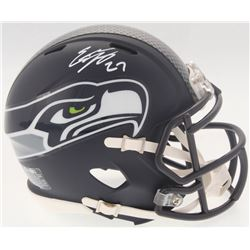 Eddie Lacy Signed Seahawks Speed Mini-Helmet (Lacy Hologram  Radtke COA)