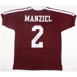 "Johnny Manziel Signed Jersey Inscribed ""'12 HT"" (JSA COA)"