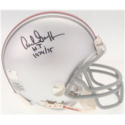 "Archie Griffin Signed Ohio State Buckeyes Mini Helmet Inscribed ""H.T. 1974/75"" (Radtke COA)"