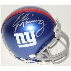 Eli Manning Signed Giants Mini Helmet (Steiner COA)