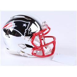 Josh Gordon Signed Patriots Chrome Speed Mini-Helmet (JSA COA)