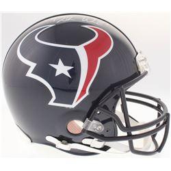 Deshaun Watson Signed Texans Authentic On-Field Full-Size Helmet (JSA COA)