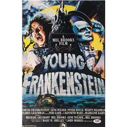 "Mel Brooks Signed ""Young Frankenstein"" 11x17 Photo (PSA COA)"