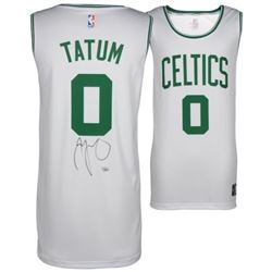 Jayson Tatum Signed Celtics Fast Break Jersey (Fanatics Hologram)