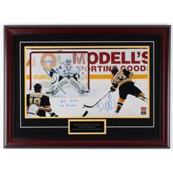 "Brad Marchand Signed Bruins 20x27 Custom Framed Photo Display Inscribed ""2011 Staney Cup Champions"""