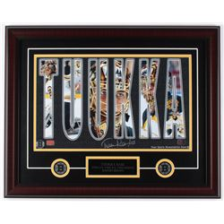Tuukka Rask Signed Bruins 20x25 Custom Framed Photo Display (Rask Hologram)