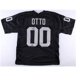"Jim Otto Signed Raiders Jersey Inscribed ""H.O.F. 1980"" (Radtke COA)"