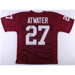 """Steve Atwater Signed Jersey Inscribed """"2x All-American"""" (Radtke COA)"""
