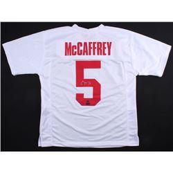 Christian McCaffrey Signed Jersey (McCaffrey Hologram  Radtke COA)