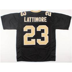 Marshon Lattimore Signed Jersey (JSA COA)