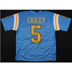 "Kenny Easley Signed Jersey Inscribed ""CF HOF '91"" (Radtke COA)"