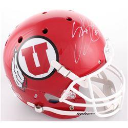 Steve Smith Sr. Signed Utah Utes Full-Size Helmet (Smith COA)