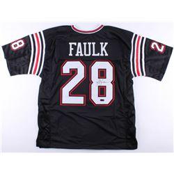 Marshall Faulk Signed Jersey (Radtke COA)