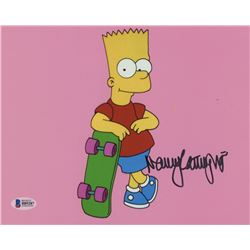 "Nancy Cartwright Signed ""The Simpsons"" 8x10 Photo (Beckett COA)"