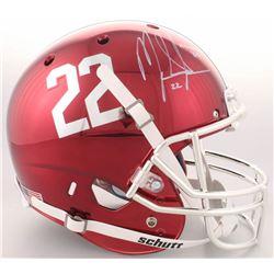 Mark Ingram Signed Alabama Crimson Tide Full-Size Custom Chrome Helmet (Radtke COA  Ingram Hologram)