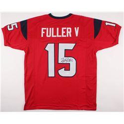 Will Fuller Signed Jersey (JSA COA)