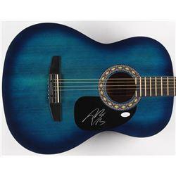 Post Malone Signed Full-Size Rogue Acoustic Guitar (JSA COA)