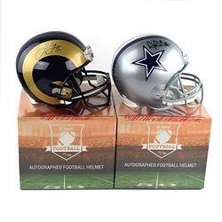 2018 Hit Parade Autographed Full-Size Football Helmet LE Series - 34